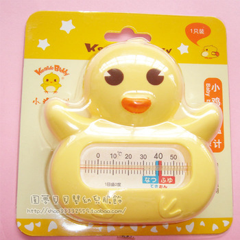 Chick kaldi water meter cartoon baby thermometer h51213