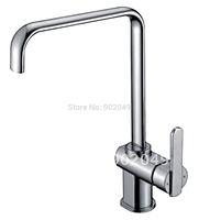 Bathroom Sink Faucet Single Handle Bathroom Vessel Faucet Brass Zinc Alloy Handle Ceramic Spool Bathroom Vanity KF-6115B