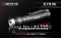 Free Shipping NITEYE EYE15 XM-L U2 LED flashlight 500 lumens magnetron dimming EDC straight torch