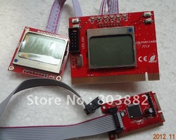 PC PCI PCI-E Analyzer Diagnostic Post Tester Card For PC Laptop Motherboard LCD(China (Mainland))