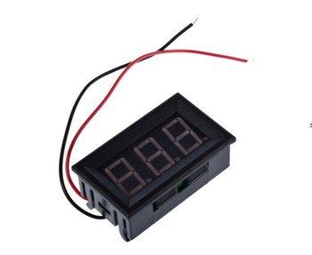 4.5-30V Digital Mini LED Auto Car Truck Voltage Volt Panel Meter Gauge Voltmeter 5pcs/lot free shipping
