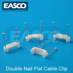 EASCO Plastic Double Nail Flat Cable Clip(China (Mainland))