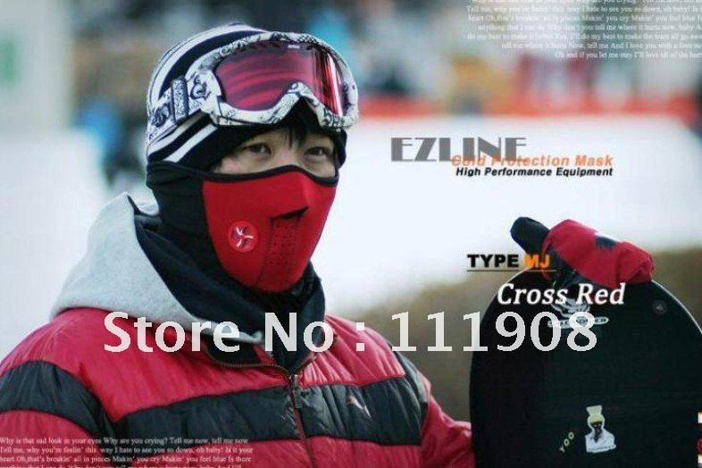 Free ship Neck warmer mouth-muffle,ski face mask for skiing mountaineering bicycle riding outdoor game sport product in winter.(China (Mainland))