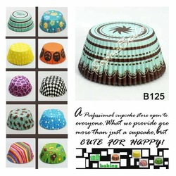 High quality party time 400 Pcs cupcake liners baking cups bakery cup free shipping B125 D(China (Mainland))