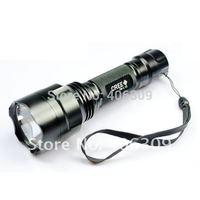 Free Shipping C8 U2 UltraFire C8 CREE XM-L U2 1300 Lumen 5-Mode LED Flashlight