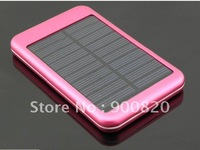 Free shipping by DHL 5000mah Solar Charger Solar Panel Battery Charger USB for iPhone Mobile Phone /Digital camera/PDA/PSP/GPS