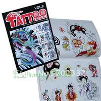 New TATTOO Sketchbook nice designs Flash Book POSTER machine flash henna art KIT Freee shipping