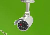 Realistic Looking Fake Dummy Powered Security Camera with Red Blinking LED motion detection freeshipping