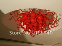LR291-Free Shipping Hot Selling 50*50cm Red Crystal Chandelier Light