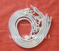 H187  // 5 pieces / lot promotion Fashio Bracelet, Snake chain hot sale Bracelet, Wholesale 925 jewelry Silver plated Bracelet