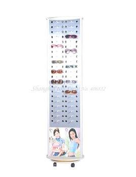 2014 foot jewelry display menu holder y202 aluminum & plastic board reading glasses display stand rack , shelf, eyewear cabinet