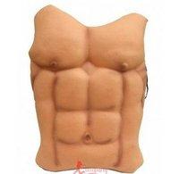 Halloween costumes masque man false chest muscle belly top man pectoralis major muscle male false block