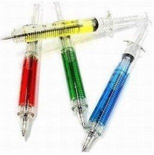 Free Shipping Sell crazy hot / Japan and South Korea Stationery / nurse shall syringe / needle pen / ball pen