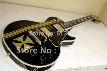 Metallica James Hetfield Iron Cross Classic Electric Guitar High Quality Free Shipping