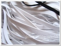 free shipping ,elastic band ,elastic webbing,0.5cm width for white,textil accessories,MOQ is 100m