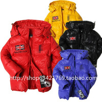 Free shipping+ Children's clothing winter outerwear child down coat male child winter
