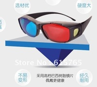 Direct selling of the latest 3D glasses red and blue