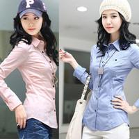 2012 white collar ol slim waist 100% cotton size long-sleeve shirt basic shirt