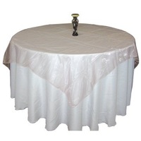 wholesale cheap pink organza table cloths, table cover, table linens