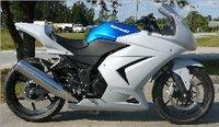 [Vic] Bike Motorcycle track race fairing kit for Hond CBR 250 2010-2012