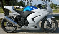 [Vic] Bike Motorcycle track race fairing kit for Hond CBR 250 2010-2012