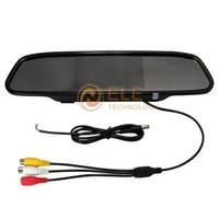 4.3 inch 2ch video input Color Rear View Rearview DVD Monitor car mirror