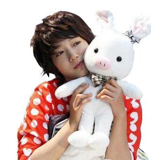 Is handsome is handsome pig rabbit doll pig rabbit doll 18