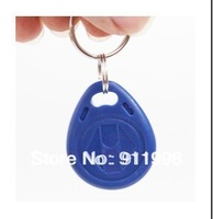 50PCS Free Shipment New Mango Brand key ring Proximity Sensor Smart RFID key tag 125khz ID keyfob Blue Color