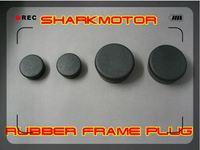 [Vic] 5set/ot BLACK rubber frame plug for HONDA CBR1000 04-07