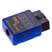Hot sell! Wholesale ELM327 V1.5 Mini Bluetooth OBDII OBD-II Auto Car Diagnostic Scanner OBD2,Free shipping--(14)
