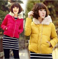 Cute Short Overcoat Women Winter Cotton Padded Jacket/Coat Women