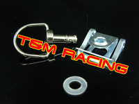 motorcycle fairing fastener  1/4 turn  bolts silver