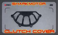 [Vic] Black Ducat half clutch cover alloy aluminum