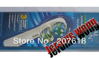 Best selling Dual Clean 3's Electric toothbrush heads300pcs/lot (3pcs=1pack)