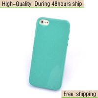 New Extra Thin Candy Stye Soft TPU Skin Cover Case For Apple iPhone 5 5G 5th Free Shipping UPS DHL HKPAM CPAM