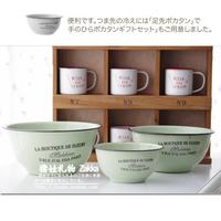 Baby pig gift zakka reminisced enamel romantic bowl vintage bowl free air mail