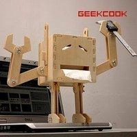 Geekcook mr diy robot tissue box free air mail