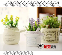 Zakka letter mini milk pudding cup breakfast cup free air mail