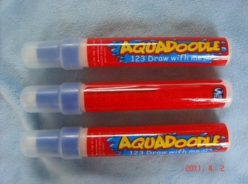 Best selling!! American Aquadoodle pen Aqua Doodle Magic Pen Water Drawing Replacement Free shipping,8 pcs/lot