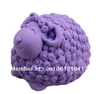 Free Shipping 3D Sheep Flexible Silicone Mold/Mould For Handmade Soap Candle Candy Jewelry Jelly Cake Fimo Resin Crafts