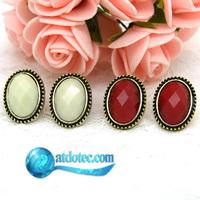 Min Order 12$ Fashion Jewelry Vintage Cute Stud Earrings Acrylic Earring ES0135