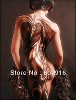 Free shipping 100% Handpainted High quality modern Decor art oil painting - Tattooed Pattern Women 24x36 inch
