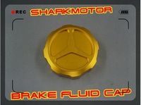 [Vic] new gold front brake fluid cap gsxr600 1000 r1 r6 zx6r zx10r cbr