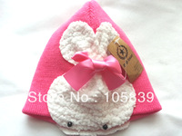 zuey baby Children's hat caps toddler kids Knitted Cap Baby Beanie baby bernat linecap cold cap free shipping