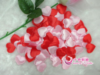 Free shipping peach heart wedding marriage bed layout simulation petals