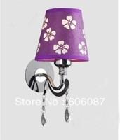 bedroom wall lamp crystal wall lamp