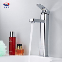 basin faucet hot and cold faucet