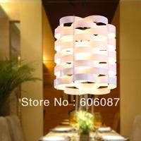 Lamps modern fashion beautiful pendant light all-match black hongbai three-color