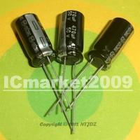 50 PCS 470uF/50V 10*20mm DIP-2 50V 470uF Aluminum Electrolytic Capacitor 470uF 50V