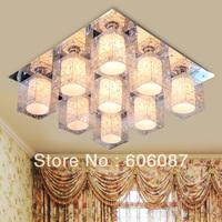 Led ceiling light modern brief lamp lamps 9 head lights